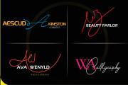 Will create a stylish and stunning hand drawn signature logo 5 - kwork.com