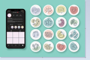 I will create 10 stickers for highlight stories in instagram 5 - kwork.com