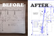 I will digitize or make any drawing in AutoCad and Kompas 3d 4 - kwork.com