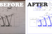 I will digitize or make any drawing in AutoCad and Kompas 3d 6 - kwork.com