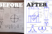 I will digitize or make any drawing in AutoCad and Kompas 3d 5 - kwork.com