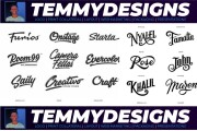 I Will do an Amazing Signature Logotype for your Brand 10 - kwork.com