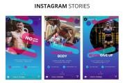 Ready-made instagram templates - fitness, sports, gym 12 - kwork.com