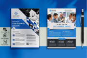 I will design you an attractive flyer for your product or event 10 - kwork.com