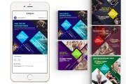 Ready-made instagram templates - fitness, sports, gym 13 - kwork.com
