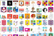 9500 high-quality images in POP ART style 5 - kwork.com