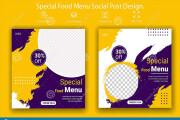 I will do creative social media design, post, banner ads 6 - kwork.com