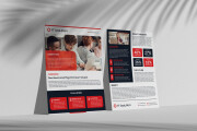 I will design a creative flyer and leaflet within 8 hours 4 - kwork.com