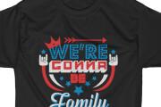 I will create unique original t-shirt design 4 - kwork.com