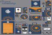 I will design brand style guide and minimalist logo design 5 - kwork.com