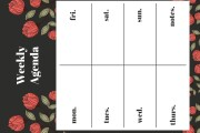I will create any style of daily, weekly, monthly planner 9 - kwork.com