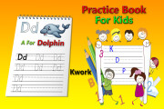 I will make handwriting practice letters tracing workbook for kids 16 - kwork.com