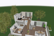 Create architectural and exterior,interior visualization 5 - kwork.com