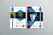 Stylish flyers and leaflets 6 - kwork.com