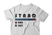 I will do a T-shirt Design for You 4 - kwork.com