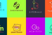 I will create a flat minimalist logo design 5 - kwork.com