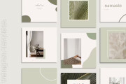 I will design eyecatching custom canva instagram templates 6 - kwork.com