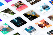 18 web banners templates pack 8 - kwork.com