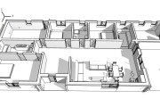 Creative Floor Plan Design of House 2D, 3D Drawings 10 - kwork.com