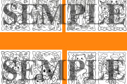 60 Halloween coloring pages for adults and kids 4 - kwork.com
