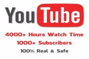 1000 Watch Hours On YouTube To Reach Monetization 6 - kwork.com