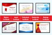 Professional Certificate Design 12 - kwork.com