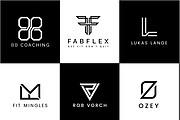 I will Do Modern Minimalist Logo design for your business 12 - kwork.com