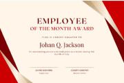 I will create awesome Certificate or Diploma Design 10 - kwork.com