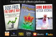 I will do professional ebook cover design and book cover design 6 - kwork.com