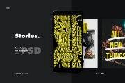 Instagram stories set 10 PSD 12 - kwork.com