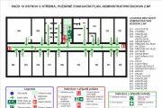 Emergency evacuation plan, map 18 - kwork.com
