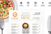 I will design, food menu, restaurant menu, price list 6 - kwork.com