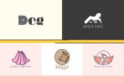 I will design simple clean and unique logo, flat, minimalist 5 - kwork.com