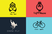 I will do unique, modern, and minimalist business logo design 9 - kwork.com