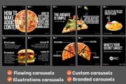 I will create social media posts, instagram post banner ads 5 - kwork.com