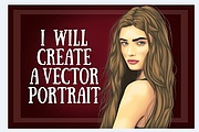 I will Create a vector portrait for you 6 - kwork.com