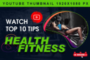I will design attractive professional youtube thumbnail In 24 Hours 5 - kwork.com