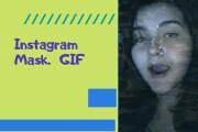Instagram Masks GIF 4 - kwork.com