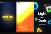 Neon Instagram stories 8 - kwork.com