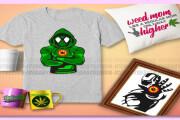 I will give 3000 organic medical cigarette svg bundle 5 - kwork.com
