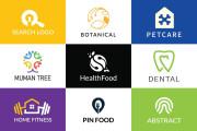 I will creative modern minimalist, luxury, unique business logo design 5 - kwork.com