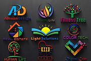 Do Modern Minimalist Logo Design 5 - kwork.com