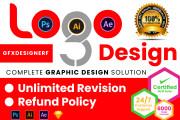 I will create professional logo design and branding 14 - kwork.com