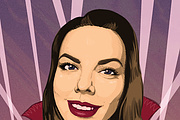 Digital portrait in a comic style 9 - kwork.com
