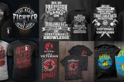 I Will Create Unique T-shirt Design 9 - kwork.com