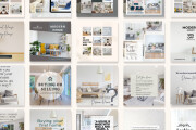 I will design Instagram post in canva 9 - kwork.com