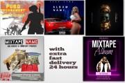 I will design a mixtape cover or album cover 5 - kwork.com