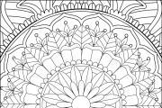 I will give you 1950 premium mandala coloring page 16 - kwork.com