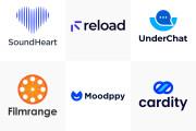 I will create modern, minimalist logo 5 - kwork.com