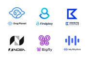 I will design a modern minimalist logo 5 - kwork.com